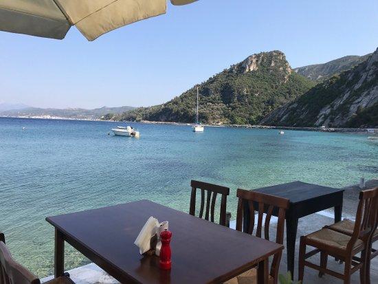Avlakia, กรีซ: Taverna Donna Rosa