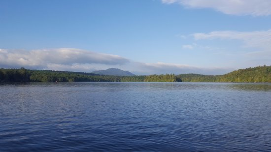 Kiwassa Lake Bed & Breakfast: View on Kiwassa Lake