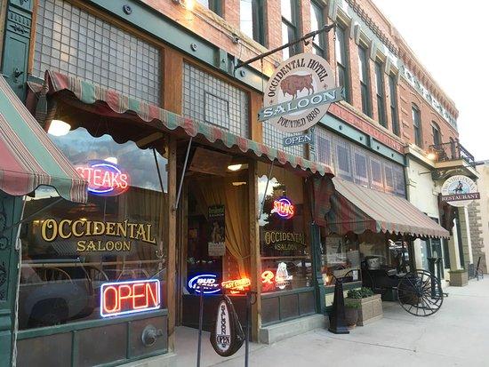 Buffalo, WY: Exterior of Saloon