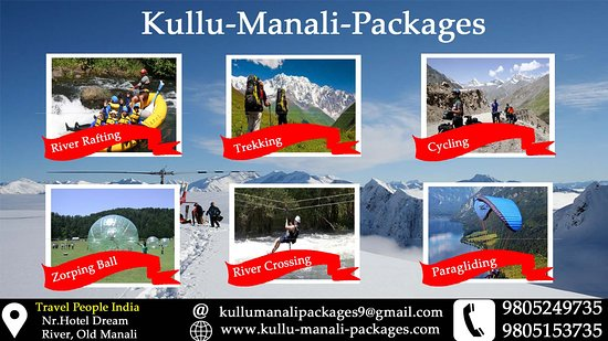 Kullu Manali Packages River Rafting Paragliding Zorbing Ball Adventure In