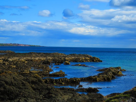 Fife, UK: part of the rugged coast