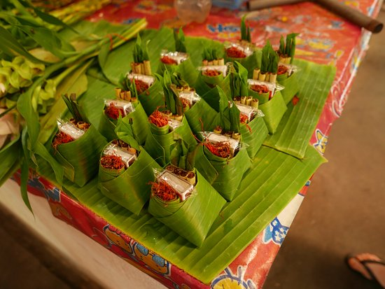 San Sai, Tailandia: Thai Secret Cooking School - At the local market