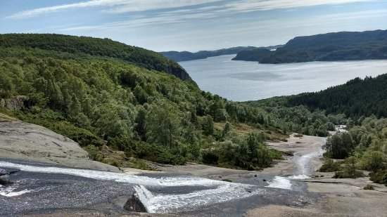 Коммуна Люнгдал, Норвегия: Fossen