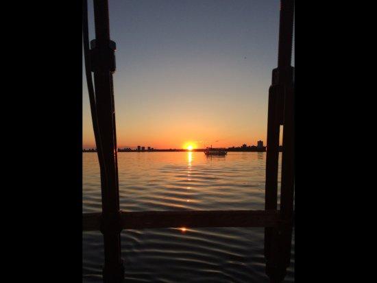 Tallship Cruises : Coucher de soleil 4 juillet 2017 (Toronto Inner harbour)