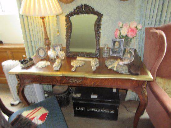 Alcester, UK: Bedroom dressing table