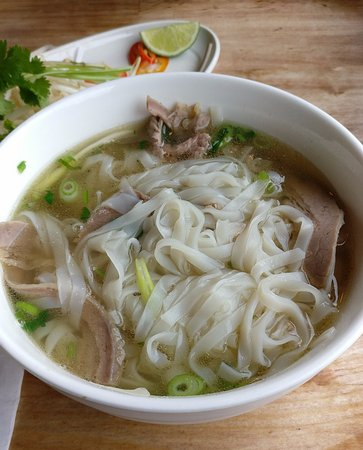 Greater London, UK: beef pho