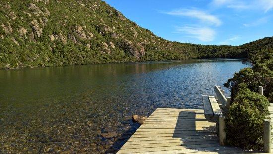Tasmania, Australia: sitting on that bench!
