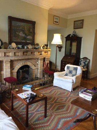 The Burren, Irlandia: A very comfortable living room.
