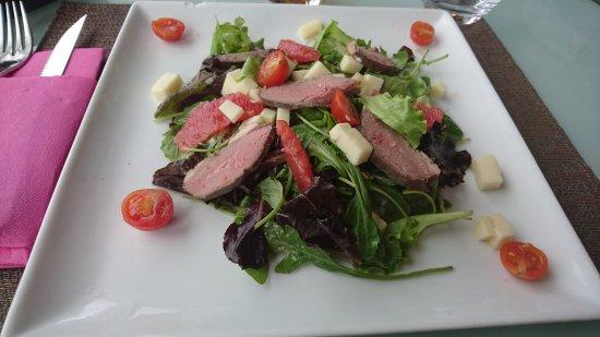 Quetigny, France: Salade magret