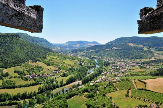 Riviere-sur-Tarn, Frankrike: Vue du Tarn