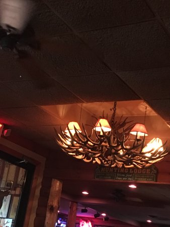 Marion, OH: The antler chandelier
