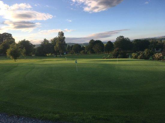 Kendal, UK: Practice Green- Carus Green
