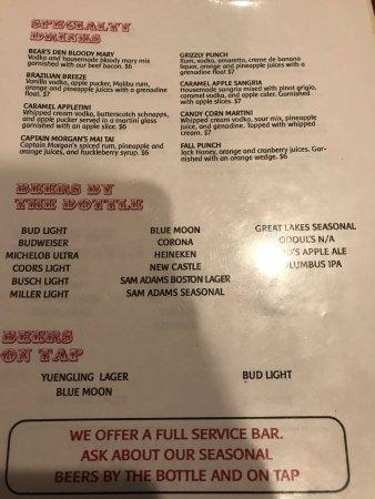 Cambridge, OH: drinks