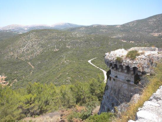 Peratata, Grækenland: Stunning views