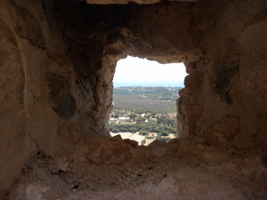 Peratata, Grækenland: So high!