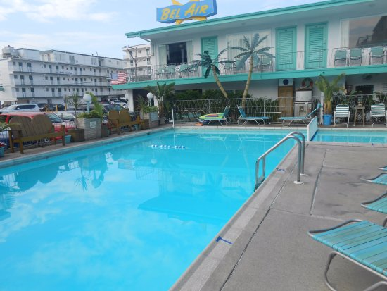 Bel-Air Motel: pool