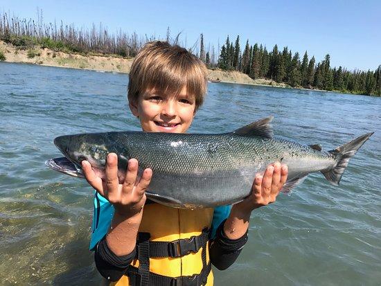 Kenai River Trout Anglers: kid-friendly!