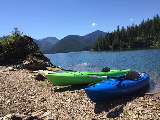 Kalispell, MT: We always rent kayaks from the RMO crew and thanks to them we have amazing adventures in beautif