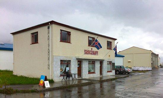 Bryggjukaffi, Flateyri, Island