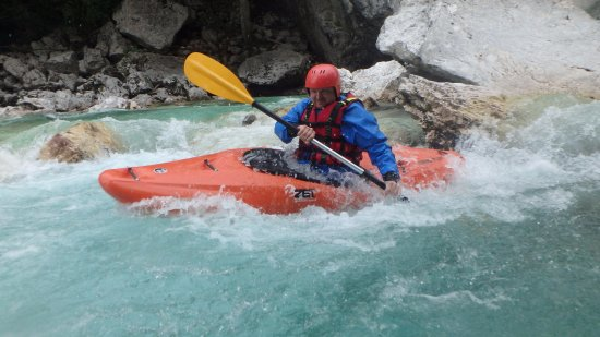 Bovec, Slovenia: With Soca Rider even beginners manage wild situations in whitewater kayaking