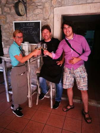 Plomin, Kroatien: Restaurant Tri Murve