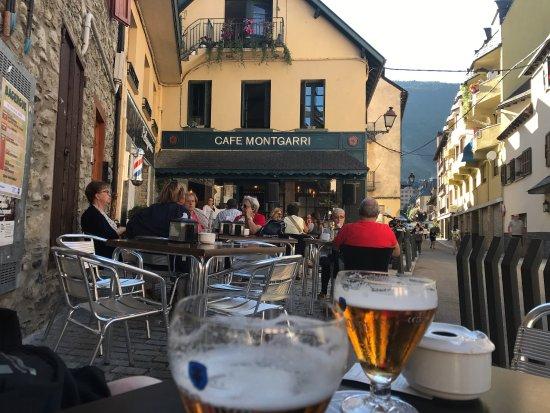 Cafe Montgarri: Terrassa