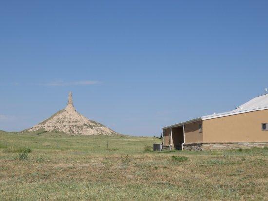 Bayard, Небраска: Rock with Visitor Center