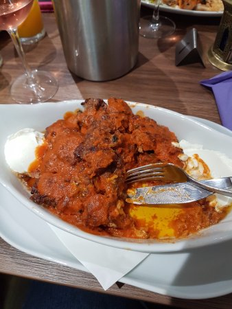 Cockermouth, UK : Lamb Iskender - I was too busy tucking in and almost forgot the photo! Absolutely delicious.