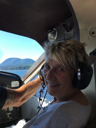 Sechelt, แคนาดา: First time on a float plane. When you are from Winnipeg, this flight is very special