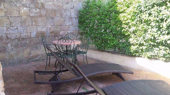 Santa Maria a Poneta: Terrazzo nostro appartamento.