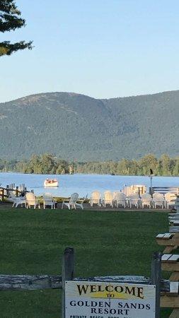 Golden Sands Resort on Lake George Foto