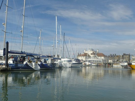 Oulton Broad, UK: Beautiful view of the Marina in Lowestoft