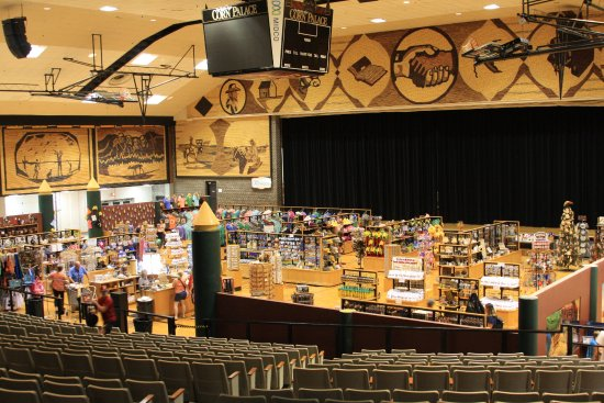 Mitchell, Dakota do Sul: Inside the Corn Palace