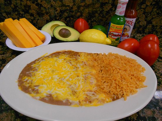 Norwalk, CA: Enchiladas (1): Cheese with onions or with beef or chicken