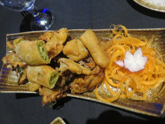 Monmouth Junction, Nueva Jersey: Mixed Pakoras