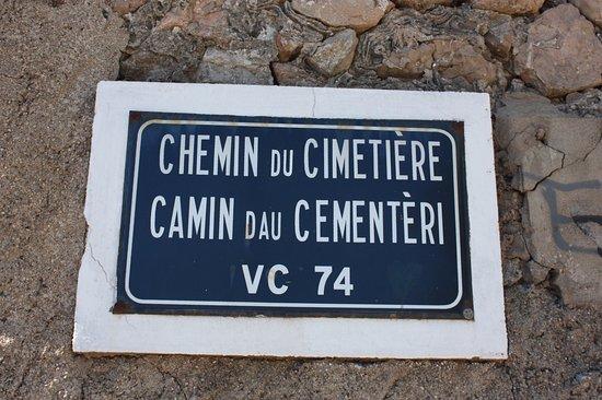 Le Cimetiere Marin: Sète, Chemin du Cimetière Marin
