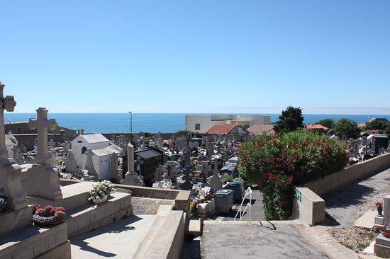 Le Cimetiere Marin: Sète, Cimetière Marin, view