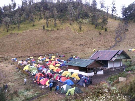 Bromo Tours: Camp before go to Semeru