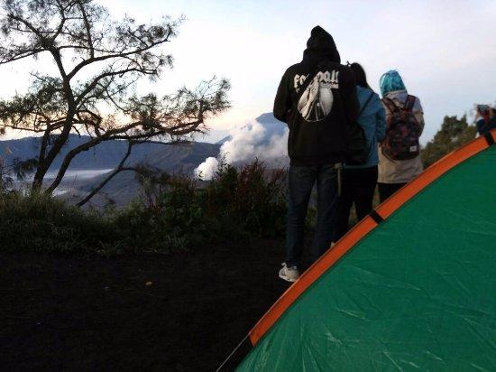 Bromo Tours: Camp near Mount Bromo