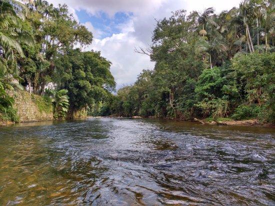 Nhundiaquara River: rio Nhundiaquara a partir de barco a remo