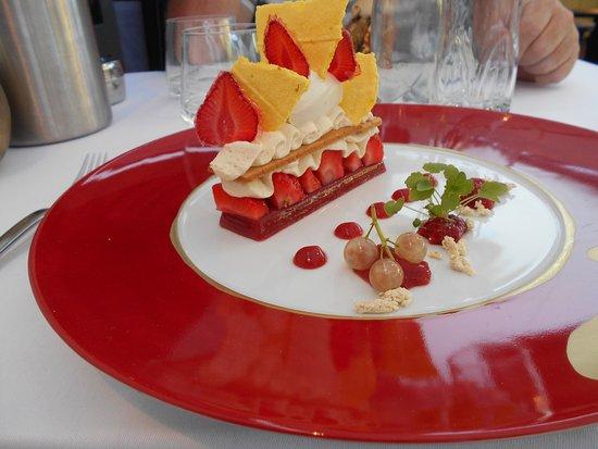 L'Hysope: Le fraisier revisité