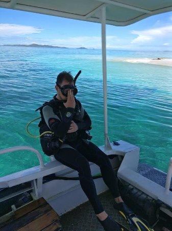 Kai Wai Ocean Sports: Me falling back into the water