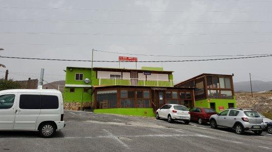 Restaurante Las Palmeras de Fasnia: El restaurante
