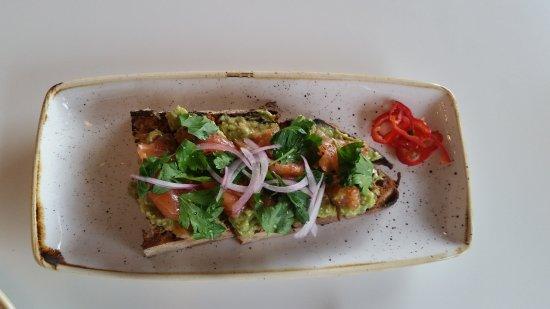 Everly: avocado toast