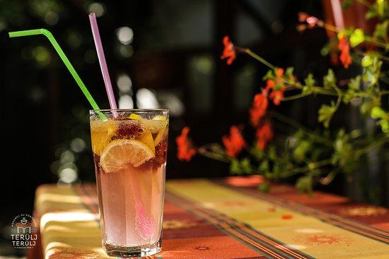 Terulj-Terulj Restaurant - New Muskatli: Fresh lemonade with raspberry