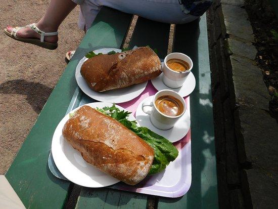 Rosenkafeet: Our lunch