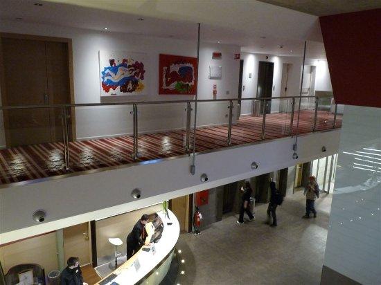 Best Western Plus Quid Hotel Venice Mestre: Hotelgänge und Blick auf Rezeption