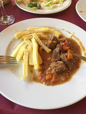Una, Испания: Restaurante Agua-Riscas