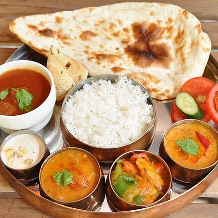 Chilliesine Indian Restaurant - CunZhong Store: Lunch Thali @ 淇里思印度美食餐廳 Chillies Indian Restaurant Taichung 0423770007 , 0422517111