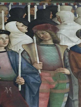 Biblioteca Piccolomini: Pinturicchio e Raffaello Sanzio